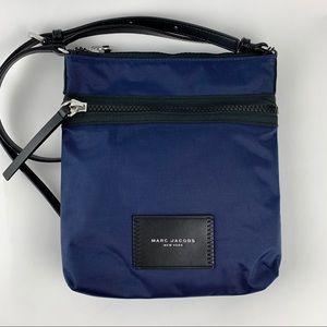 MARC JACOBS Slim Leather Crossbody Travel Bag